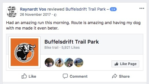 Buffelsdrift Trail Park review facebook