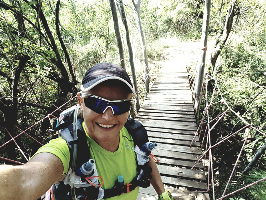 Nicky Booyens Buffelsdrift Trail Park Testimonial review bridge selfie