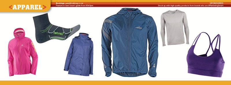 Winter Guide Gear Guide TRAIL 28 apparel