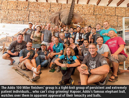 Addo Elephant Trail Run 2018 100 mile finishers