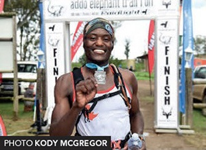 Addo Elephant Trail Run 2018 Mvuyisi Gcogco winner 44km by Kody McGregor