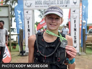Addo Elephant Trail Run 2018 Nicolette Griffioen winner 76km by Kody McGregor