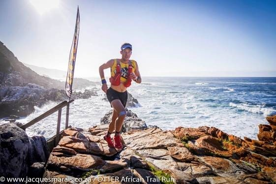 Christiaan Greyling Otter African Trail Run by Jacques Marais