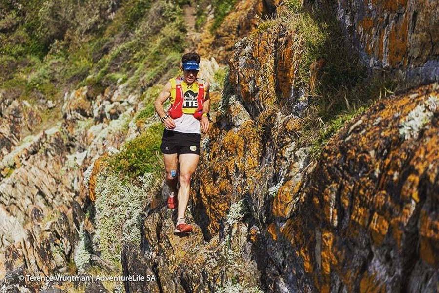 Christiaan Greyling Otter African Trail Run by Terence Vrugtman AdventureLife SA