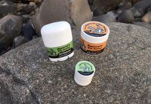 Squirrel's Nut Butter on rocks closed TRAIL magazine review