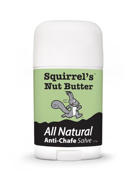Squirrel's Nut Butter Anti-Chafe Salve 1.7oz stick review TRAIL magazine issue T29