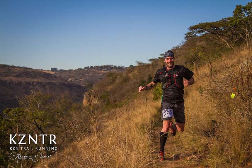 Stuart Cole at Umngeni River Run 2018 by Graham Daniel