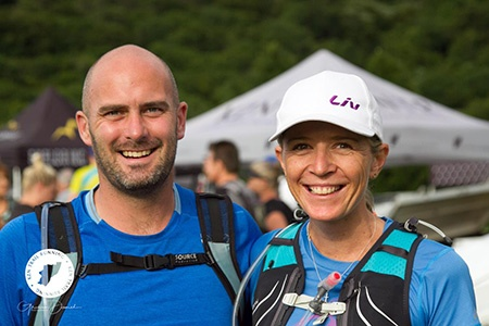 Stuart Cole with Helen Laatz at Gilboa Challenge by Graham Daniel