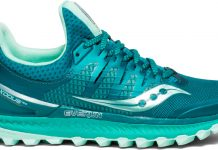 Saucony Xodus ISO 3 competition T30 womens shoe side view