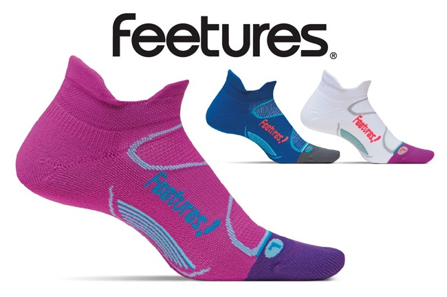 Feetures Elite socks letter letters magazine write