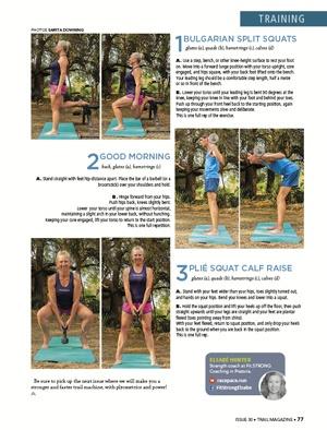 Strength Training Elsabe Hunter TRAIL 30