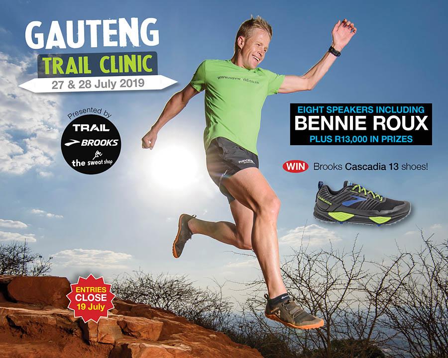 Gauteng Trail Clinic 2019 speaker BENNIE ROUX