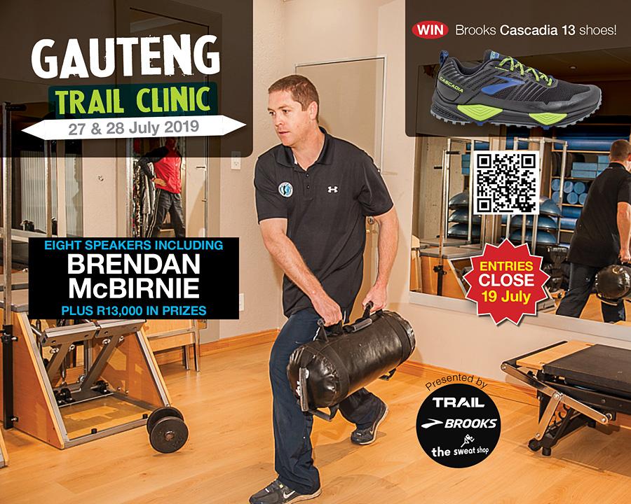 gauteng trail clinic 2019 speaker BRENDAN McBirnie 900pixels