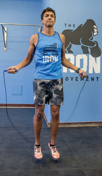 TRAIL 31 Rhain Hoskins skipping jump rope The IRON Movement