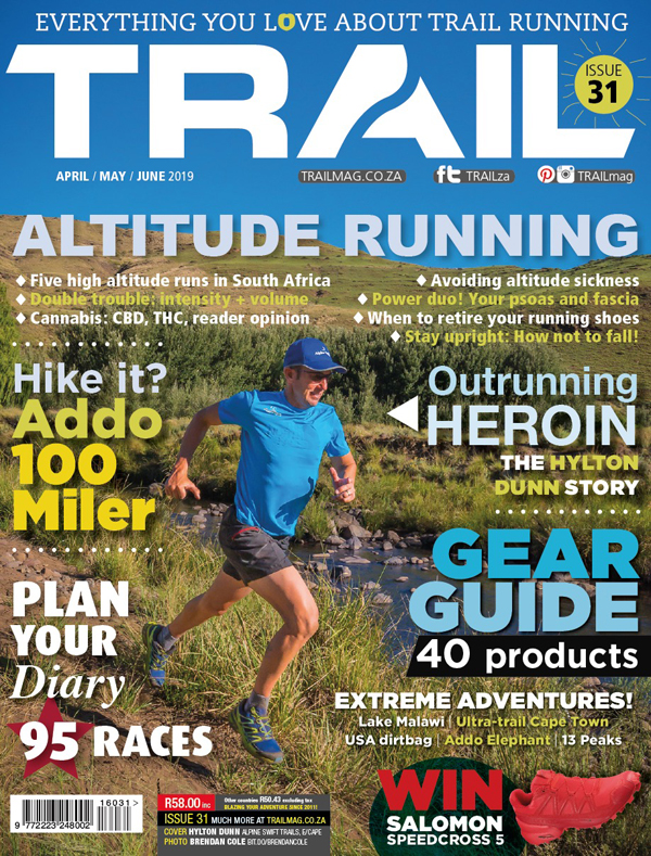 cover Hylton Dunn by Brendan Cole TRAIL 31