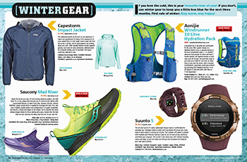 Gear Guide intro spread Winter TRAIL 32