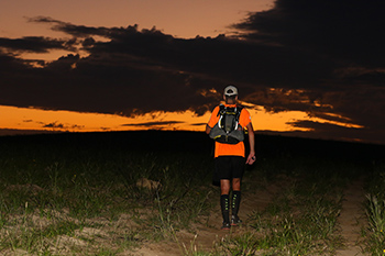 Addo 2019 Richard Pearce runner heading into sunrise TRAIL 31