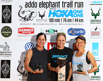 Addo 2019 top 3 women 100 miler 2019 richard pearce TRAIL 31
