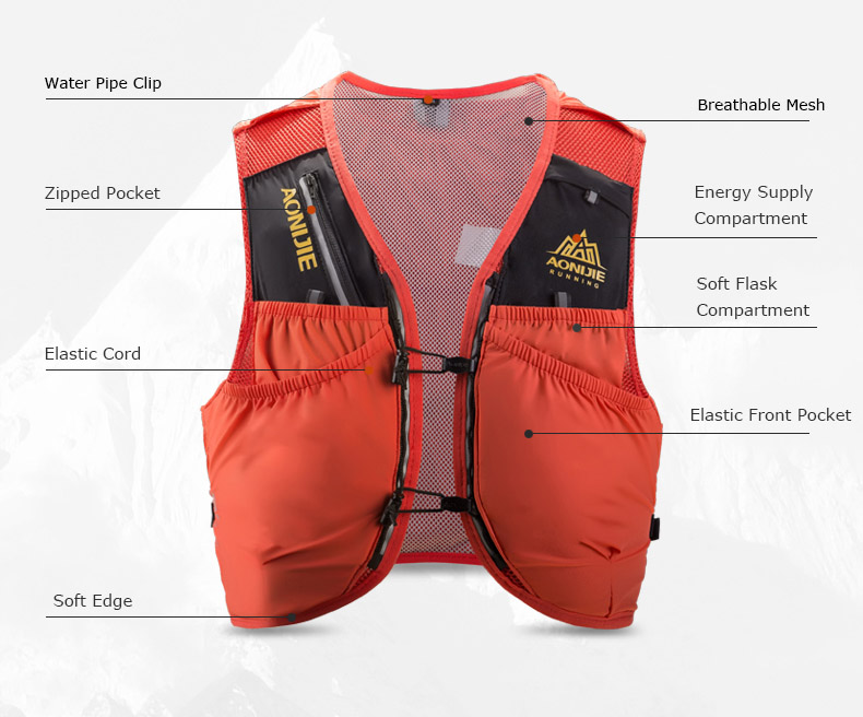 Gale 10 vest 10-Litre hydration pack 2019 front cropped