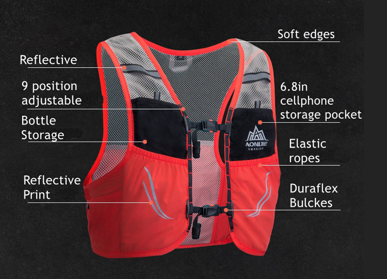 Aonijie Moderate Gale 2,5L hydration pack 2019 FRONT VIEW