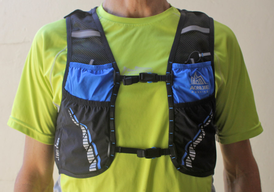 Aonijie Moderate Gale 5L hydration vest front view