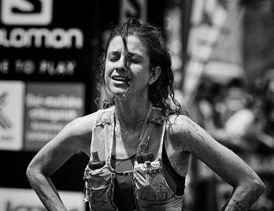 Toni McCann Zegama pain face by Jan Nyka