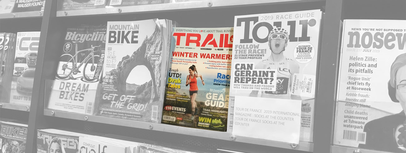 Advertise advert TRAIL magazine running South Africa marketing issue 32 newsstand advertising