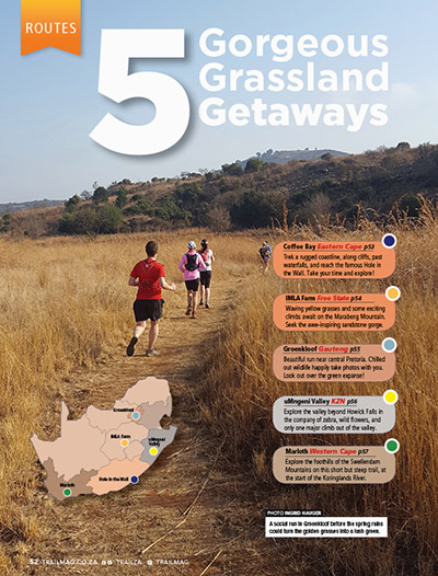 Grassland run venues TRAIL 34