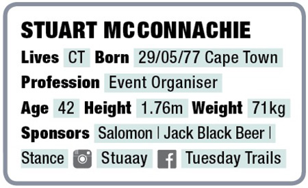 Stuart McConnachie facts TRAIL 33