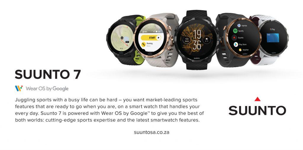Win Suunto 7 smartwatch TRAIL Magazine South Africa