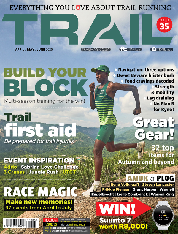cover TRAIL 25 Eric Ngubane by Gareth Hubbard