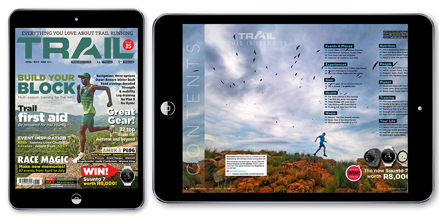 cover Eric Ngubane TRAIL T35 CONTENTS iPad