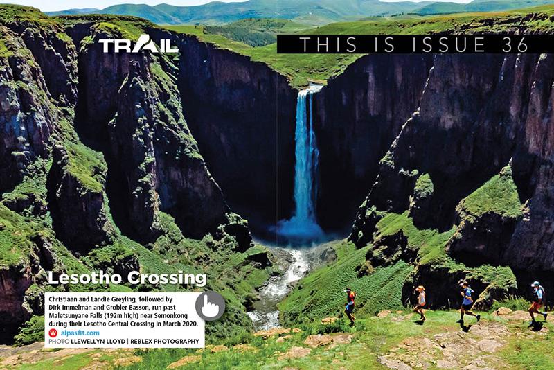 Lesotho Crossing spread TRAIL 36
