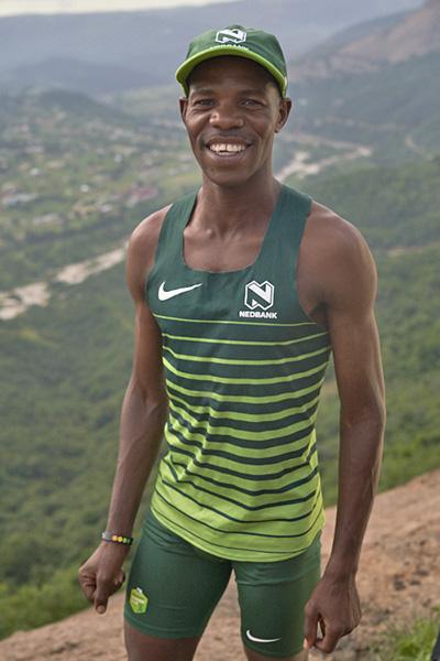 Eric Ngubane smile vert by Gareth Hubbard TRAIL 34