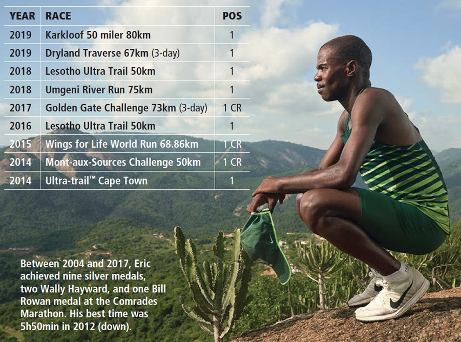 Eric Ngubane wins TRAIL 35
