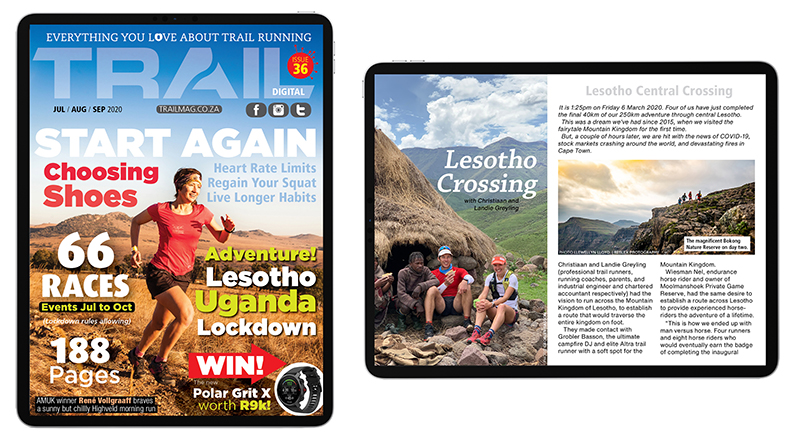 iPad Pro digital issue Lesotho Crossing promo T36