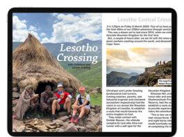 iPad Pro digital issue Lesotho Crossing spread web T36