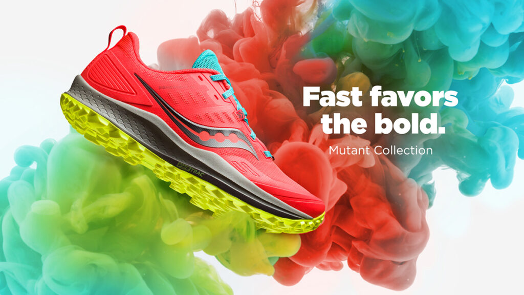 Saucony Peregrine 10 Mutant trail shoes giveaway