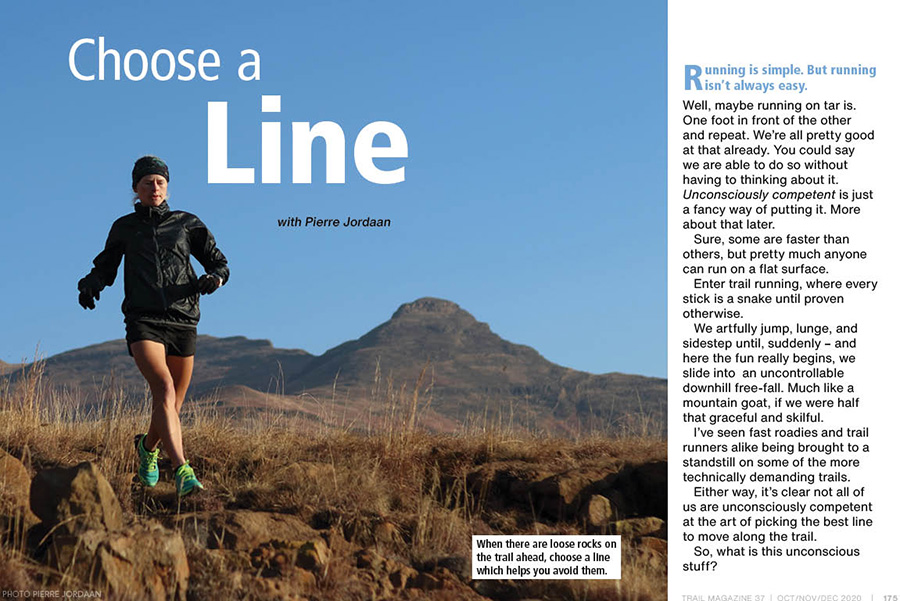 Choose a line spread TRAIL 37