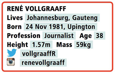 Rene Vollgraaff bio info T36
