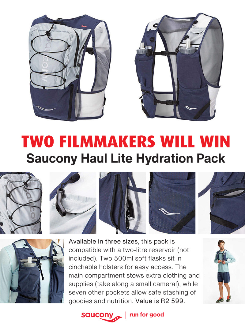 Trail Film Awards 2021 prize Saucony Haul Lite Hydration Pack