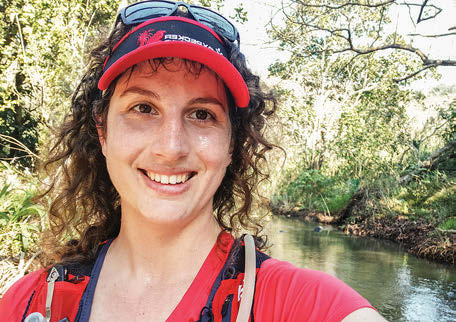 editors editorial Heloise Hunter TRAIL 38 at Holla Trails