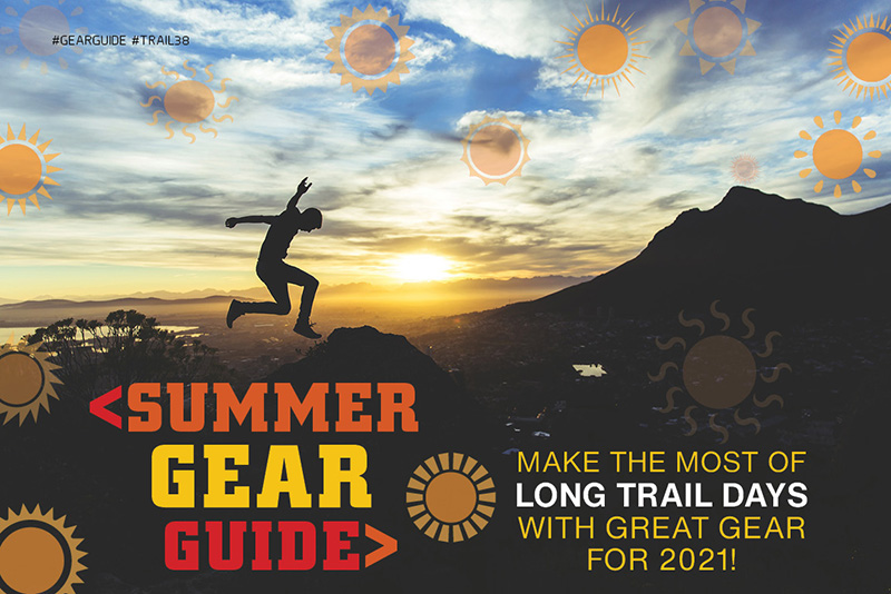 Summer Gear Guide spread TRAIL 38