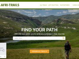Afritrails.com magazine screenshot website review homepage 2021