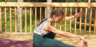 Karine Bezuidenhour core strength single leg balance TRAIL 37