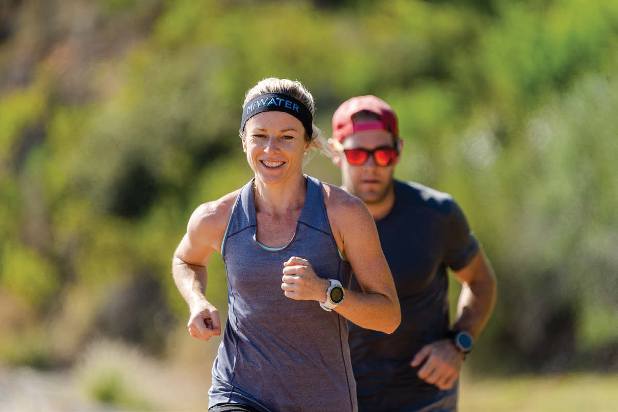 Megan Mackenzie and James Montgomery of The Run Project by Kevin Sawyer TRAIL 37
