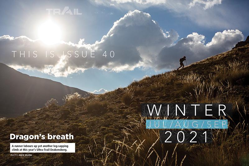 TRAIL magazine UTD contents spread issue 40