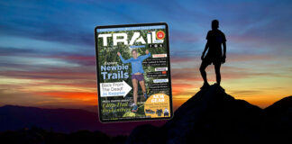 TRAIL magazine issue 40 cover Jo Keppler Jul/Aug/Sep 2021