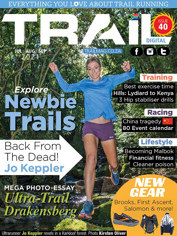 TRAIL 40 cover Jo Keppler Jul/Aug/Sep 2021 issue